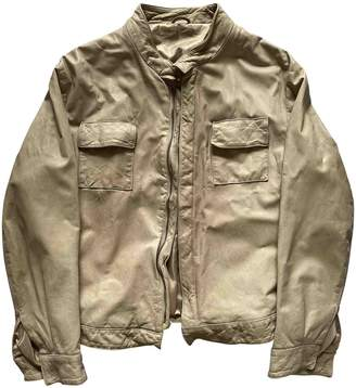 BEIGE Non Signe / Unsigned Leather Jackets