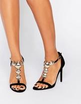 Faith Fifi Shell Heeled Sandals