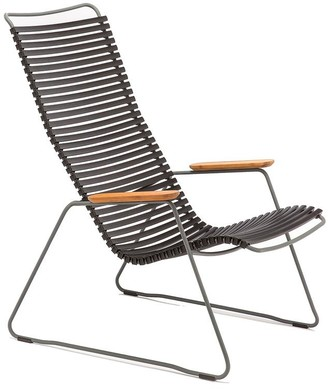 Ecc Lighting & Furniture Click Outdoor Lounge Chair Black