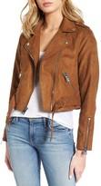 Levi's Women's Levis Faux Suede Moto Jacket