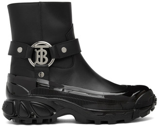 Burberry Black Mallory Boots