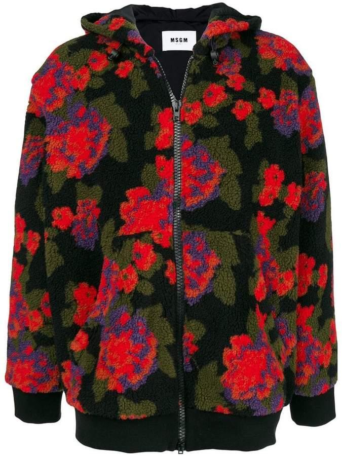 MSGM floral pattern jacket