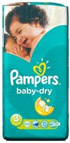 Pampers Baby Dry Size 3 Midi 4-9kg