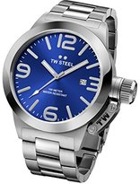 TW Steel Men's CB12 Stainless Steel Watch with Blue Dial