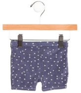 Petit Bateau Girls' Terry Cloth Star Print Shorts