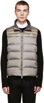 Moncler Grey Down Dubres Vest