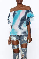 Entro Tie Dye Long Top