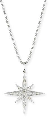 Sydney Evan Diamond Starburst Pendant Necklace