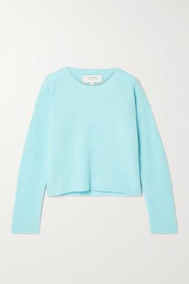 La Ligne Toujours Ribbed Cashmere Sweater - Sky blue