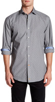 Thomas Dean Long Sleeve Woven Shirt