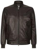 Pal Zileri Zip Chest Biker Jacket