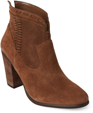Vince Camuto Tree House Fretzia Suede Ankle Booties