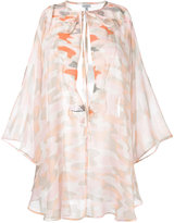 La Perla Beyond the beach kaftan - women - Silk - One Size