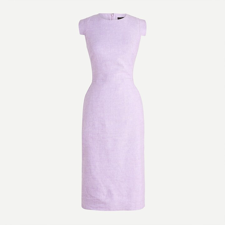Thumbnail for your product : J.Crew Resume dress in stretch linen