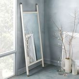 west elm Mid-Century Dowel Mirror – White