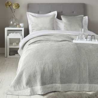 The White Company Vienne Quilt, Grey, Double