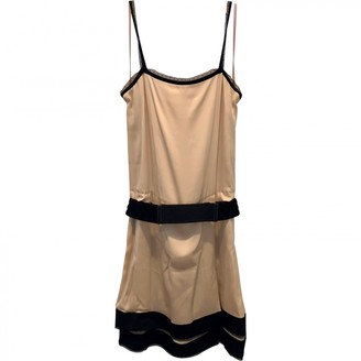 Diane von Furstenberg Ecru Silk Dresses