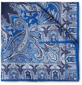 Etro Paisley-Print Silk Pocket Square