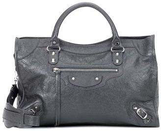Balenciaga Classic City M leather tote