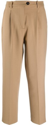 Tommy Hilfiger Cropped Straight-Leg Trousers