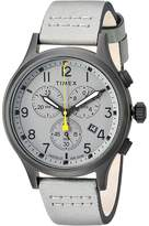 Timex Allied Chrono Leather Watches