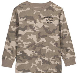 Cotton On Toddler, Little and Big Boys Skater Long Sleeve Tee