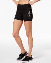 Calvin Klein High-Rise Logo Shorts