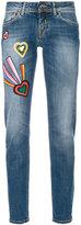 Iceberg patch denim jeans