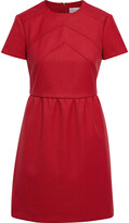 Thumbnail for your product : RED Valentino Gathered Drill Mini Dress