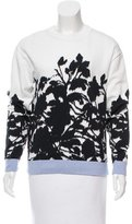 Prabal Gurung Printed Crew Neck Top