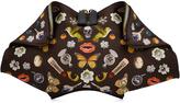 Alexander McQueen De Manta Printed Clutch with Leather