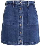 Lee BUTTON THROUGH SKIRT Mini skirt acid stone