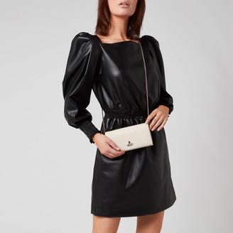 Vivienne Westwood Women's Windsor Long Wallet with Long Chain - Beige