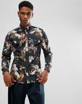 Selected Homme Slim Fit Shirt With All Over Print