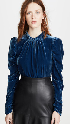 WAYF Erika Puff Sleeve Top