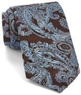 Ermenegildo Zegna Men's Paisley Woven Silk Tie