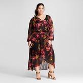 Women's Plus Size Feminine Maxi Dress - Ava & Viv