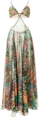 Alexis Marteena cut-out maxi dress