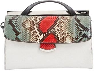 Fendi Demi Jour White Python Handbags