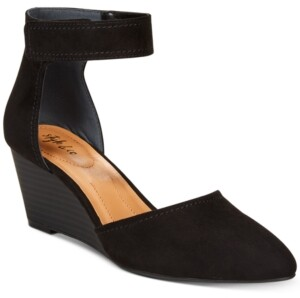 Style&Co. Style & Co Yarah Two-Piece Wedge Pumps, Created for Macy's Women's Shoes