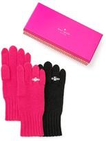 Kate Spade Ring Knit Tech Gloves