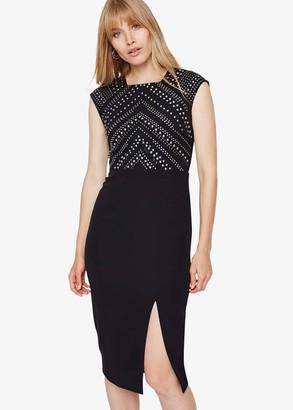 Phase Eight Talin Stud Detail Dress