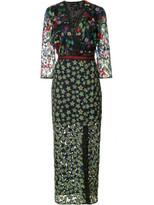 Saloni Jennifer-F Floral Midi Dress