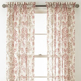 Royal Velvet Sirente Sheer Rod-Pocket Curtain Panel