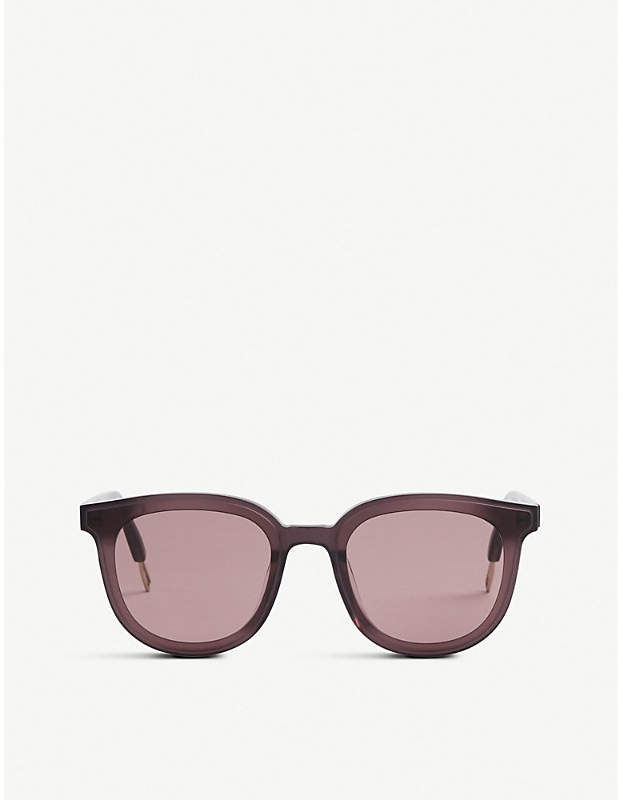 Gentle Monster Ma Mars tinted round-frame sunglasses