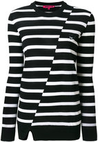 McQ swallow striped jumper