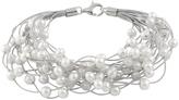 Bella Pearl Pearl & Sterling Silver Multistrand Bracelet