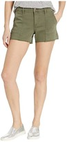 Sam Edelman Cargo Shorts (Moss Green) Women's Shorts
