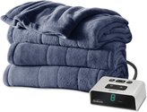 Sunbeam Microplush Heated Blanket with ComfortTech Controller