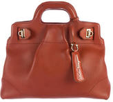 Salvatore Ferragamo Gancio Leather Satchel